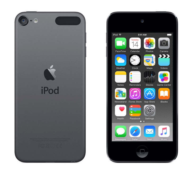 iPod touchの第5世代と第6世代を比べてみた。